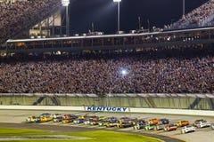 NASCAR: Estado 400 do Quaker julho de 09 Foto de Stock Royalty Free