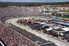NASCAR - Estiramento da parte dianteira de Martinsville Imagem de Stock Royalty Free