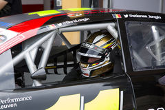 Nascar Euro Series - Bert Longin Royalty Free Stock Photography