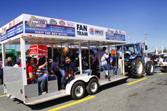 NASCAR - Fan Tram in Charlotte Stock Photography