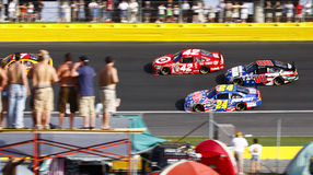 NASCAR - Fans and All Stars Side by Side stock images