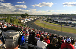 NASCAR fans fill the stands Royalty Free Stock Images