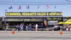 NASCAR - Fans Shop for Communication Technology Stock Images