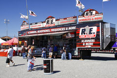 NASCAR - Fans Shop at Racing Electronics Stock Image