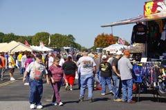NASCAR - Fans Shopping Royalty Free Stock Photos