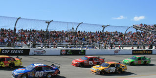 NASCAR fans trackside in Richmond Stock Images