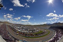 NASCAR:  Feb 27 Subway Fresh Fit 500. AVONDALE, AZ - FEB 27, 2011:  Phoenix International Raceway plays host to the Subway Fresh Fit 500 race at the in Avondale Stock Photo
