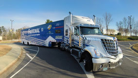 NASCAR:  Feb 14 NASCAR Haulers Stock Photography