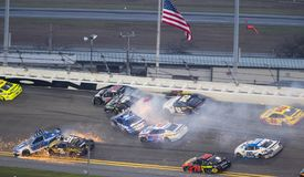 NASCAR: Am 18. Februar Daytona 500 Stockbild