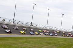 NASCAR:  Am 23. Februar Daytona-International-Speedway lizenzfreie stockfotografie