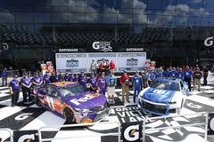NASCAR: Februari 11 Daytona 500 Arkivbild