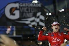 NASCAR: Februari 20 vaken idag Florida 300 Arkivfoto