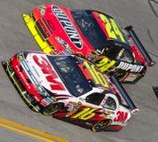 NASCAR:  February 4 Budweiser Shootout Stock Photography