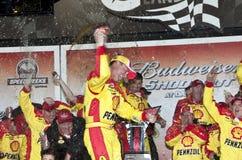 NASCAR:  February 6 Budweiser Shootout Royalty Free Stock Images