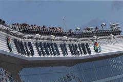 NASCAR: February 19 Advance Auto Parts Clash at Daytona Stock Image