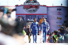 NASCAR: February 26 Daytona 500 Royalty Free Stock Image