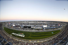 NASCAR: February 26 Daytona 500. February 26, 2017 - Daytona Beach, Florida, USA: The Monster Energy NASCAR Cup Series teams take to the track for the Daytona royalty free stock image