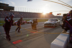 NASCAR:  FedEx Freight Pit Stop LifeLock.com 400 Royalty Free Stock Photography
