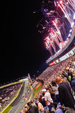 NASCAR - Feux d'artifice alternativement 2 à Charlotte Photos stock