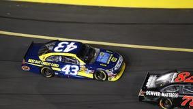 NASCAR - Follow the Leader! Stock Image