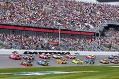 NASCAR Gatorade raça de qualificação de 150 milhas Foto de Stock