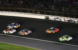 NASCAR - Girata 2 a Lowes fotografia stock