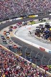 NASCAR - Girata 4 di Martinsville Fotografia Stock