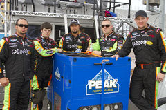 NASCAR GoDaddy Nationwide Series Pit Crew Royalty Free Stock Photos