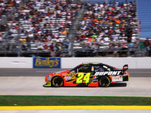 NASCAR - Gordon & Race Fans Stock Images