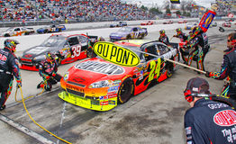 NASCAR - Gordon's Dupont Chevy Pit Stop Royalty Free Stock Images