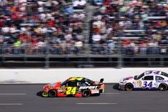 NASCAR - Gordon stellt den Schritt ein Lizenzfreies Stockfoto
