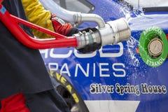 NASCAR : Grande vodka 400 de machine du 10 septembre à la briqueterie photos libres de droits