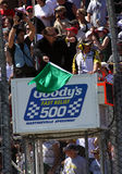 NASCAR - Green Flag Means Go! Royalty Free Stock Image