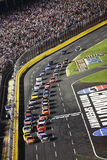 NASCAR - Green Flag Restart at the Coca Cola 600 Royalty Free Stock Photo