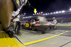 NASCAR: Greg Biffle Pit Stop Stock Photo