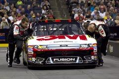 NASCAR: Gruben-Besatzung-Herausforderung Biffle Lizenzfreie Stockbilder