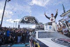 NASCAR: Guarda 500k del boleto del 11 de marzo Imágenes de archivo libres de regalías