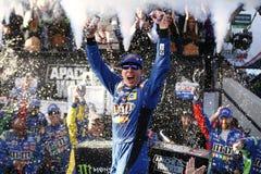 NASCAR : Guerrier 400 d'Apache du 1er octobre Image libre de droits