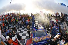 NASCAR : Guerrier 400 d'Apache du 1er octobre Photographie stock