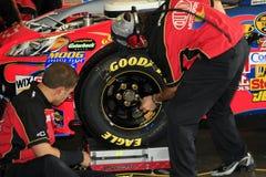 NASCAR - Guerriers d'arc-en-ciel Photographie stock libre de droits