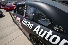 NASCAR:  Haas Racing Allstate 400 at the Brickyard Royalty Free Stock Photos
