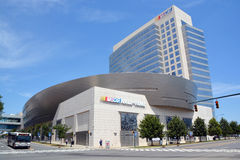 NASCAR Hall of Fame Royalty Free Stock Images