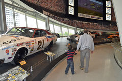 NASCAR hall of fame museum Stock Photography