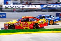 NASCAR Harvick Inside of Kurt Busch Stock Images