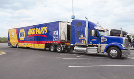 NASCAR Hauler for #9 Chase Elliott Royalty Free Stock Images