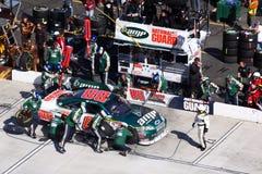 NASCAR - het Einde van de Kuil van Jr van het Dal #1 Royalty-vrije Stock Afbeelding