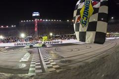 NASCAR: Il 21 agosto Irwin lavora la corsa di notte Fotografia Stock