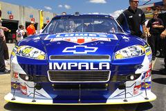 NASCAR - Impala 2010 di #48 Lowes del Johnson Immagini Stock