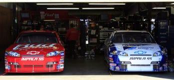 NASCAR - Impalas betriebsbereit! lizenzfreie stockbilder