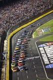 NASCAR - Inverdica il riavvio della bandierina alla coca-cola 600 fotografia stock libera da diritti